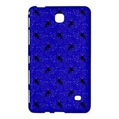 Unicorn Pattern Blue Samsung Galaxy Tab 4 (7 ) Hardshell Case  by MoreColorsinLife