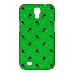 Unicorn Pattern Green Samsung Galaxy Mega 6 3  I9200 Hardshell Case by MoreColorsinLife