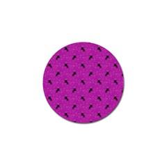 Unicorn Pattern Pink Golf Ball Marker (10 Pack) by MoreColorsinLife