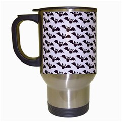 Bats Bg Travel Mugs (white) by AllOverIt