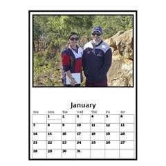 Jane Black And White Mutli Photo Calendar 2018 By Deborah   Desktop Calendar 6  X 8 5    8z59gxp0p75o   Www Artscow Com Jan 2018
