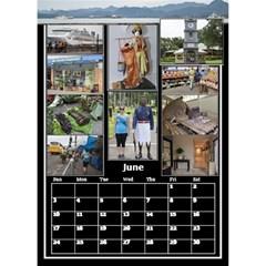 Jane Black And White Mutli Photo Calendar 2018 By Deborah   Desktop Calendar 6  X 8 5    8z59gxp0p75o   Www Artscow Com Jun 2018