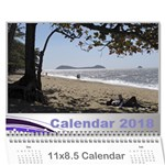 Jane Silver Flash 2018 Calendar  LARGE NUMBERS - Wall Calendar 11  x 8.5  (12-Months)