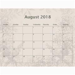 Jane Coffee And Cream (any Year) 2018 Calendar By Deborah   Wall Calendar 11  X 8 5  (12 Months)   Q76fkighcvzg   Www Artscow Com Aug 2018