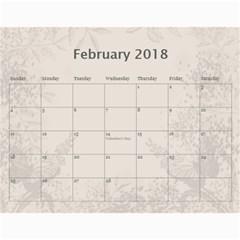 Jane Coffee And Cream (any Year) 2018 Calendar By Deborah   Wall Calendar 11  X 8 5  (12 Months)   Q76fkighcvzg   Www Artscow Com Feb 2018