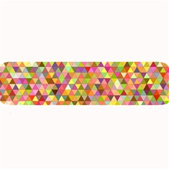 Multicolored Mixcolor Geometric Pattern Large Bar Mats by paulaoliveiradesign