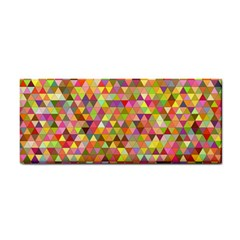 Multicolored Mixcolor Geometric Pattern Cosmetic Storage Cases by paulaoliveiradesign