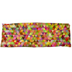 Multicolored Mixcolor Geometric Pattern Body Pillow Case Dakimakura (two Sides) by paulaoliveiradesign