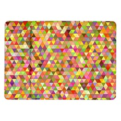 Multicolored Mixcolor Geometric Pattern Samsung Galaxy Tab 10 1  P7500 Flip Case by paulaoliveiradesign