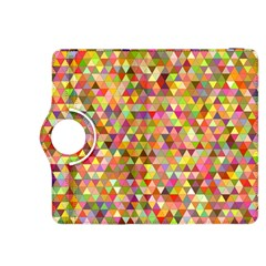 Multicolored Mixcolor Geometric Pattern Kindle Fire Hdx 8 9  Flip 360 Case by paulaoliveiradesign
