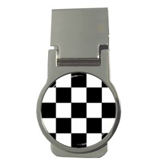 Grid Domino Bank And Black Money Clips (round)  by Nexatart