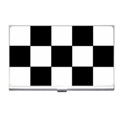 Grid Domino Bank And Black Business Card Holders by Nexatart