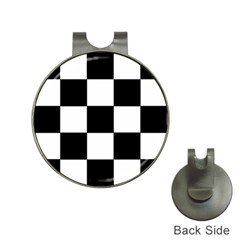 Grid Domino Bank And Black Hat Clips With Golf Markers