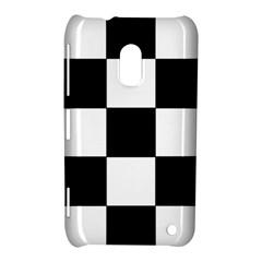 Grid Domino Bank And Black Nokia Lumia 620 by Nexatart