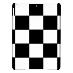Grid Domino Bank And Black Ipad Air Hardshell Cases