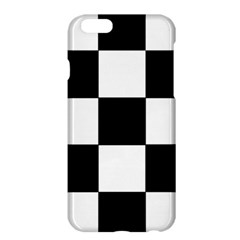 Grid Domino Bank And Black Apple Iphone 6 Plus/6s Plus Hardshell Case