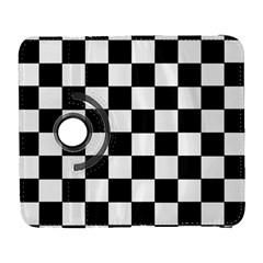 Grid Domino Bank And Black Galaxy S3 (flip/folio)