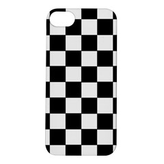 Grid Domino Bank And Black Apple Iphone 5s/ Se Hardshell Case