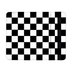 Grid Domino Bank And Black Samsung Galaxy Tab Pro 8 4  Flip Case