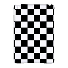 Grid Domino Bank And Black Apple Ipad Mini Hardshell Case (compatible With Smart Cover) by Nexatart