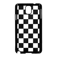 Grid Domino Bank And Black Samsung Galaxy Note 3 Neo Hardshell Case (black)