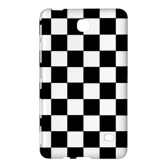 Grid Domino Bank And Black Samsung Galaxy Tab 4 (7 ) Hardshell Case