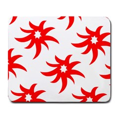 Star Figure Form Pattern Structure Large Mousepads by Nexatart
