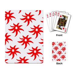 Star Figure Form Pattern Structure Playing Card