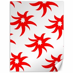Star Figure Form Pattern Structure Canvas 36  X 48