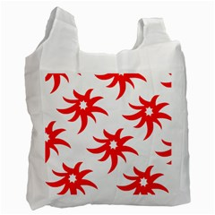 Star Figure Form Pattern Structure Recycle Bag (one Side)