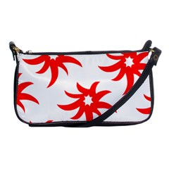 Star Figure Form Pattern Structure Shoulder Clutch Bags