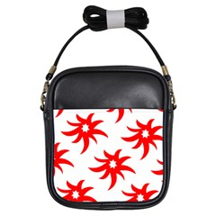 Star Figure Form Pattern Structure Girls Sling Bags