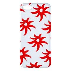 Star Figure Form Pattern Structure Apple Iphone 5 Premium Hardshell Case