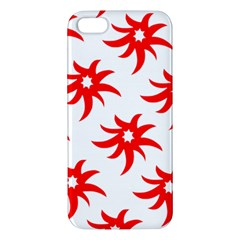 Star Figure Form Pattern Structure Iphone 5s/ Se Premium Hardshell Case by Nexatart