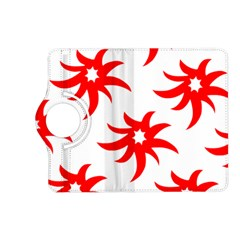 Star Figure Form Pattern Structure Kindle Fire Hd (2013) Flip 360 Case by Nexatart