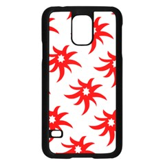 Star Figure Form Pattern Structure Samsung Galaxy S5 Case (black) by Nexatart
