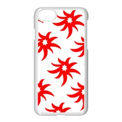 Star Figure Form Pattern Structure Apple Iphone 7 Seamless Case (white)