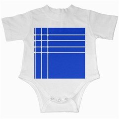 Stripes Pattern Template Texture Blue Infant Creepers