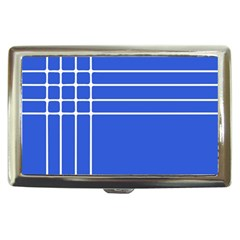 Stripes Pattern Template Texture Blue Cigarette Money Cases