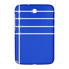 Stripes Pattern Template Texture Blue Samsung Galaxy Note 8 0 N5100 Hardshell Case