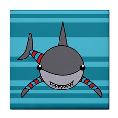 Shark Sea Fish Animal Ocean Tile Coasters