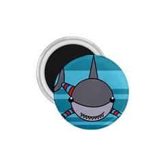 Shark Sea Fish Animal Ocean 1 75  Magnets