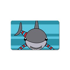 Shark Sea Fish Animal Ocean Magnet (name Card) by Nexatart