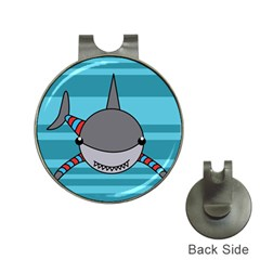 Shark Sea Fish Animal Ocean Hat Clips With Golf Markers