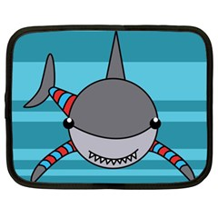 Shark Sea Fish Animal Ocean Netbook Case (xl)