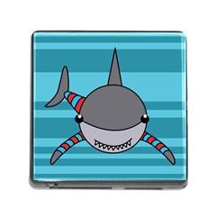 Shark Sea Fish Animal Ocean Memory Card Reader (square)
