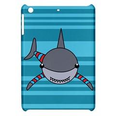 Shark Sea Fish Animal Ocean Apple Ipad Mini Hardshell Case by Nexatart
