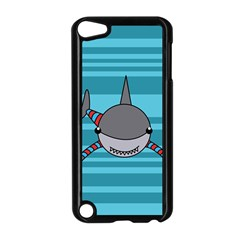 Shark Sea Fish Animal Ocean Apple Ipod Touch 5 Case (black)