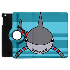 Shark Sea Fish Animal Ocean Apple Ipad Mini Flip 360 Case