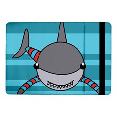 Shark Sea Fish Animal Ocean Samsung Galaxy Tab Pro 10 1  Flip Case by Nexatart